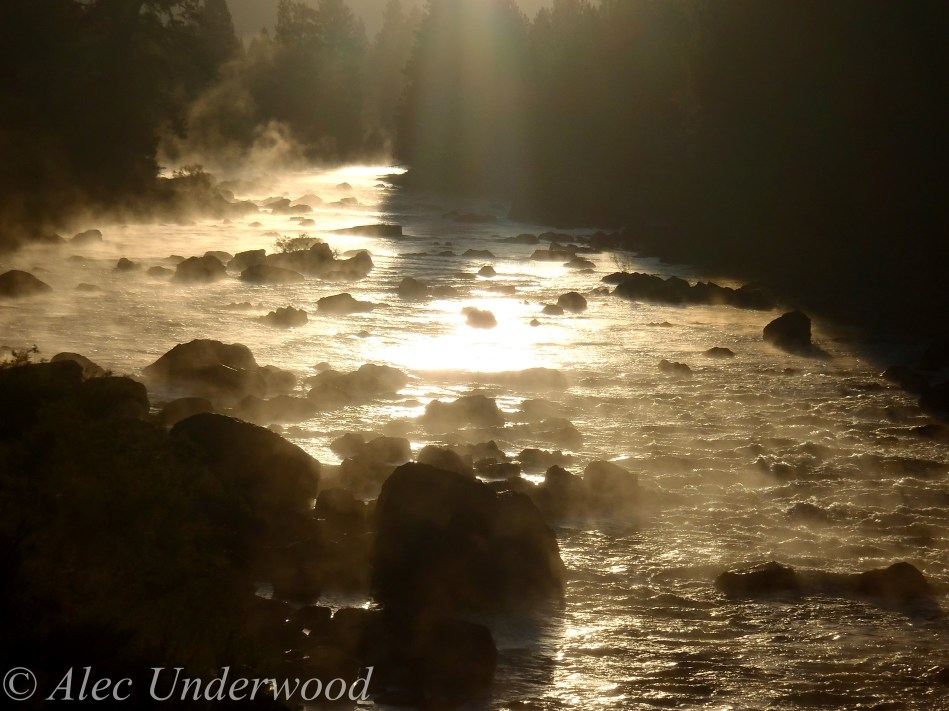 Blackfoot River sunrise
