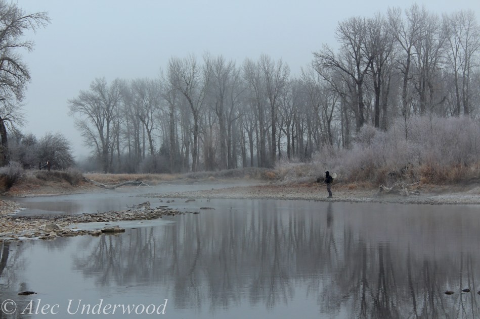Misty morning on the Clark Fork