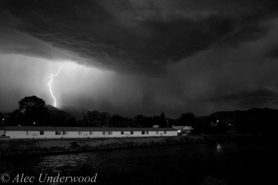Idaho thunderstorm