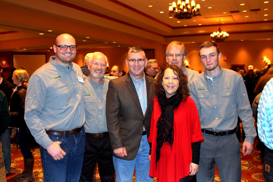From left to right, WCTU President Carey Schmidt, board member Mark Kuipers, Senator Jon Walsh, Janet Walsh, board members Bill Ritchie and myself.